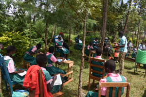 The Water Project: Itieng'ere Primary School -  Listening During Training