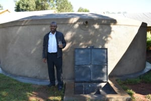 The Water Project: Itieng'ere Primary School -  Mr Levi Wandera