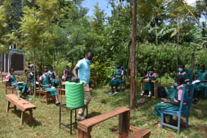 The Water Project: Itieng'ere Primary School -  Participants In Session