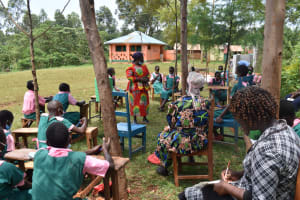 The Water Project: Itieng'ere Primary School -  Teachers And Bom