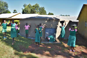 The Water Project: Itieng'ere Primary School -  Water Celebration