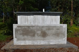 The Water Project: Itieng'ere Primary School -  Complete Latrine