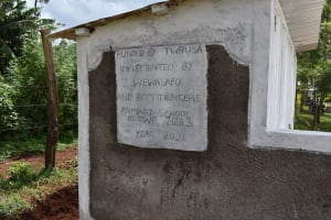 The Water Project: Itieng'ere Primary School -  Latrine Identification