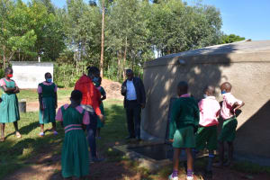 The Water Project: Itieng'ere Primary School -  On Site Training