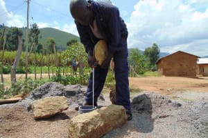 The Water Project: Muriola Primary School -  Static Water Level Measuring
