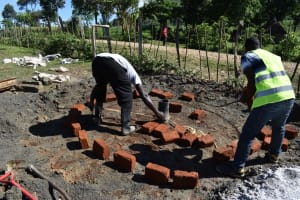 The Water Project: Muriola Primary School -  Pad Measuring