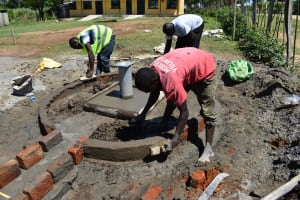 The Water Project: Muriola Primary School -  Plaster Works