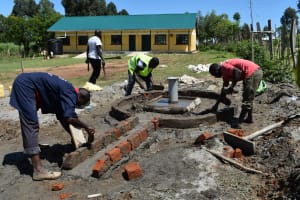 The Water Project: Muriola Primary School -  Drainage Construction