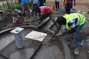 The Water Project: Muriola Primary School -  Setting The Floor