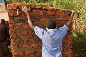 The Water Project: Muriola Primary School -  Latrine Brick Works
