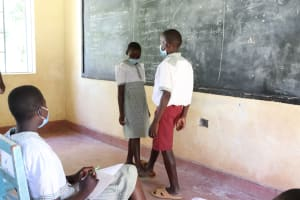The Water Project: Muriola Primary School -  Students Ways Of Greeting