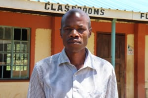 The Water Project: Muriola Primary School -  Teacher Shango Wafula