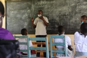 The Water Project: Muriola Primary School -  Tooth Brushing Demonstration