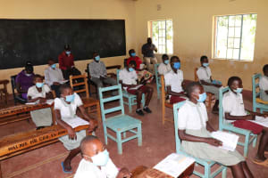 The Water Project: Muriola Primary School -  Training In Section