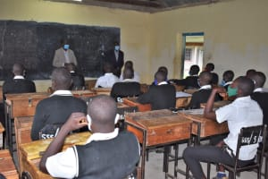The Water Project: Shamberere Boys' High School -  Class In Session