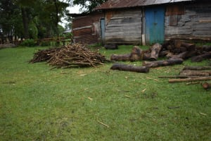 The Water Project: Shamberere Boys' High School -  Firewood To Cook School Meals