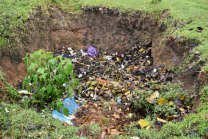 The Water Project: Shamberere Boys' High School -  Garbage Disposal Pit