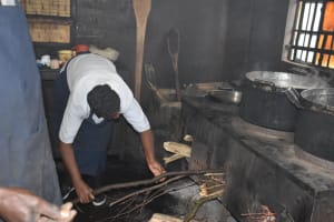 The Water Project: Shamberere Boys' High School -  Kitchen Staff Hard At Work