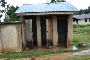 The Water Project: Shamberere Boys' High School -  Latrines
