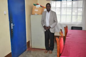 The Water Project: Shamberere Boys' High School -  Principal Robert Lumbasi