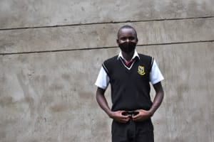 The Water Project: Shamberere Boys' High School -  Pupil Rigan