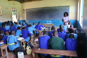 The Water Project: Bukhakunga Primary School -  A Class In Session