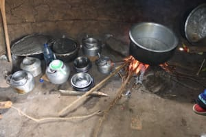 The Water Project: Bukhakunga Primary School -  Fireplace Inside The Kitchen