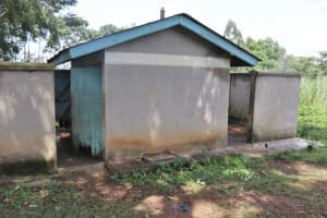The Water Project: Bukhakunga Primary School -  Girls Latrines