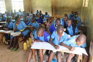 The Water Project: Bukhakunga Primary School -  Pupils In Class