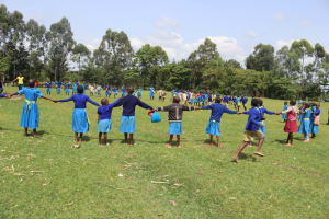 The Water Project: Bukhakunga Primary School -  Pupils Playing In School