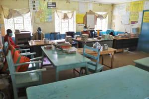The Water Project: Bukhakunga Primary School -  Teachers Inside The Staffroom