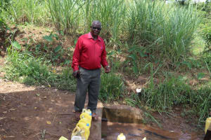 The Water Project: Bukhakunga Primary School -  Headteacher John Chiliswa At The Sprong