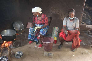 The Water Project: Bukhakunga Primary School -  School Chefs Inside The Kitchen