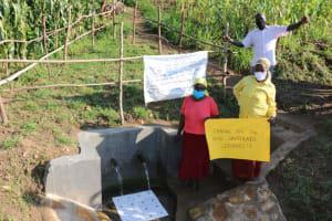 The Water Project: Ematetie Community, Amasetse Spring -  Amasetse Spring Dedication