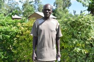 The Water Project: Ematetie Community, Amasetse Spring -  David Amasetse
