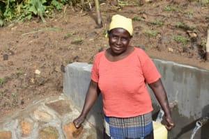 The Water Project: Ematetie Community, Amasetse Spring -  Martha Amasetse