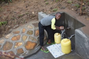 The Water Project: Ematetie Community, Amasetse Spring -  Paul A