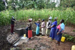 The Water Project: Musango Community, Wambani Spring -  Handing Over Ceremony