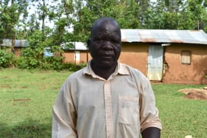 The Water Project: Musango Community, Wambani Spring -  Dishon Kutsushi