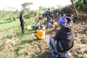 The Water Project: Ikoli Community, Odongo Spring -  Active Question And Answer Session