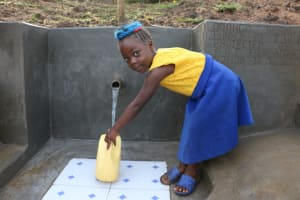 The Water Project: Ikoli Community, Odongo Spring -  Easier Water Access For The Old And Young
