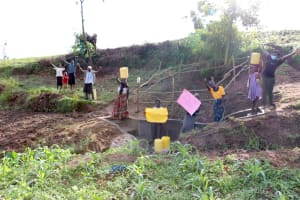 The Water Project: Ikoli Community, Odongo Spring -  Thank You