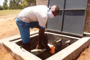 The Water Project: St. Benedict Emutetemo Primary School -  Clinton K