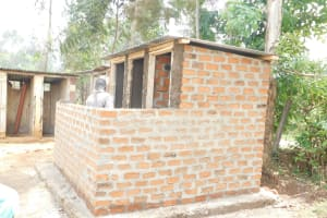 The Water Project: St. Benedict Emutetemo Primary School -  Construction Of Vip Latrines
