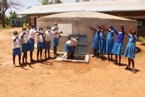 The Water Project: St. Benedict Emutetemo Primary School -  Happy Students Of St Benedict Emutetemo