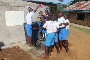 The Water Project: St. Benedict Emutetemo Primary School -  Splash