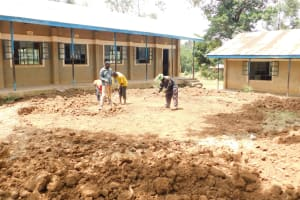 The Water Project: St. Benedict Emutetemo Primary School -  Setting Up Of Foundation