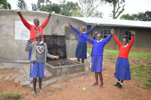 The Water Project: Emachina Primary School -  Cheers Of Victory