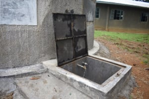 The Water Project: Emachina Primary School -  Clean Water Flowing