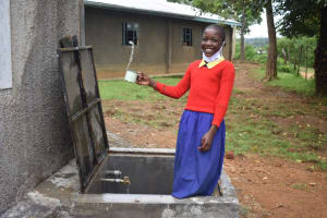 The Water Project: Emachina Primary School -  Clean Water At The School